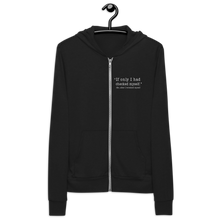 Load image into Gallery viewer, Checked Myself Unisex Zip Hoodie