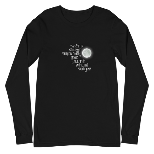 Turn Your Magic On Unisex Long Sleeve Tee