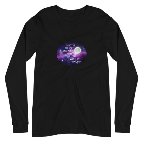 Turn Your Magic On Oval Unisex Long Sleeve Tee