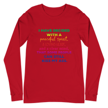 Load image into Gallery viewer, I Have Decided Unisex Long Sleeve Tee
