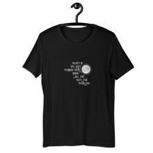 Load image into Gallery viewer, Turn Your Magic On Short-Sleeve Unisex T-Shirt - White Text