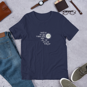 Turn Your Magic On Short-Sleeve Unisex T-Shirt - White Text