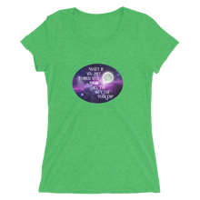 Load image into Gallery viewer, Turn Your Magic On Oval Ladies' Short Sleeve T-Shirt