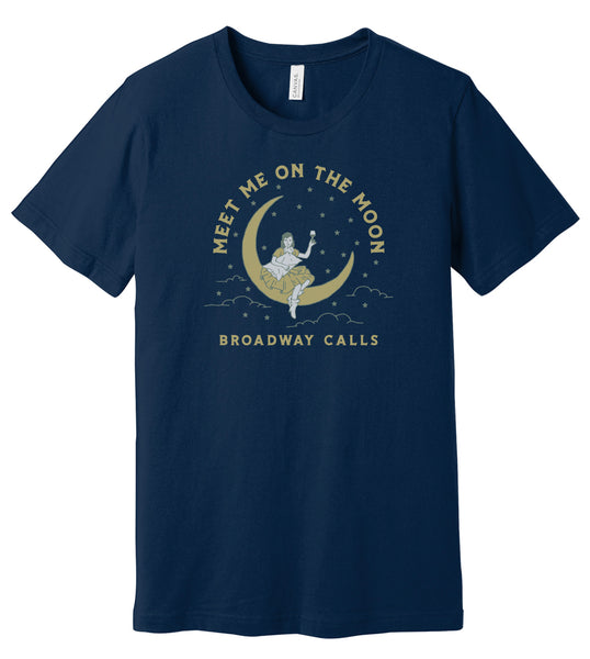 Broadway Calls - Meet Me on the Moon - Navy Blue