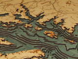 Chesapeake Bay | Wooden Map