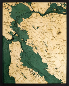 San Francisco Wood Chart | Wood Map