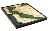 San Francisco California Wood Chart | Wood Map