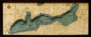 Wood Map | Lake Geneva | Wisconsin