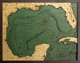 Gulf of Mexico | Wood Chart