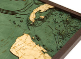 Gulf of Mexico | Wood Map
