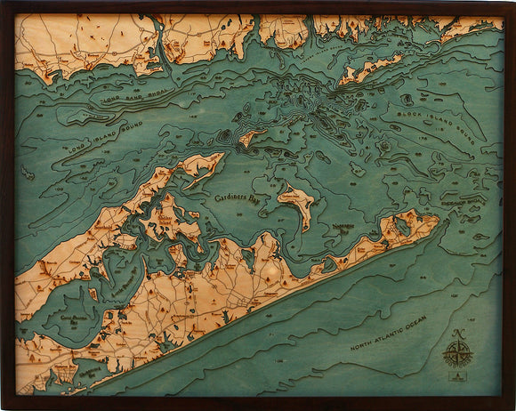 Wood Map | Long Island Sound