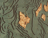 Hawaiian Islands | Wood Chart