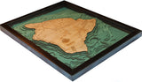 Wood Maps | The Big Island, Hawaii