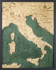 Italy Wood Chart | Wood Map