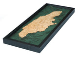 Jamaica, Caribbean Wood Chart | Wood Map