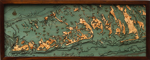 Wood Map | The Florida Keys