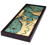 New Orleans Wood Map