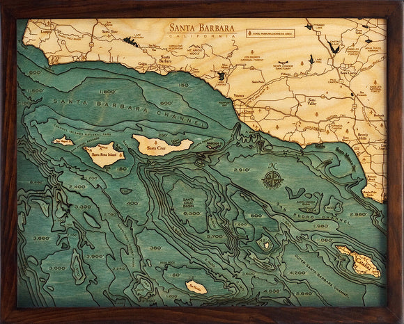 Wood Map | Santa Barbara | California