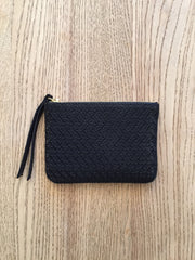 Purse: Navy crochet