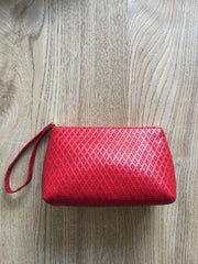 Red Diamond Embossed Case