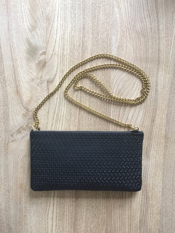 Monmouth Bag-Black Crochet