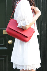Rathbone Satchel - Red