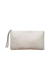 Monmouth Clutch: Cream Diamond