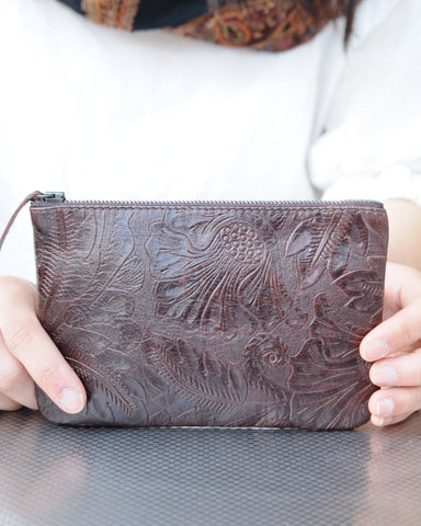 Embossed Purse- large