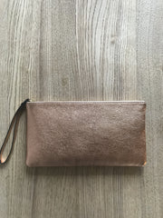 Monmouth Clutch - Rose Gold