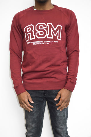Red Crewneck Sweater Men