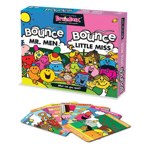BrainBox Bounce Little Miss and Mr Men Duo Pack