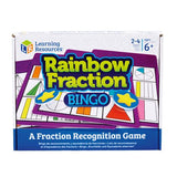 Rainbow Fraction® Bingo