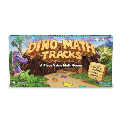 Dino Math Tracks® - Place Value Game - iPlayiLearn.co.za  - 1