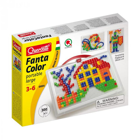 Fantacolor Portable Mix Large 300pc - mixed pegs - iPlayiLearn.co.za