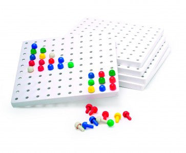 5 Peg Boards - iPlayiLearn.co.za