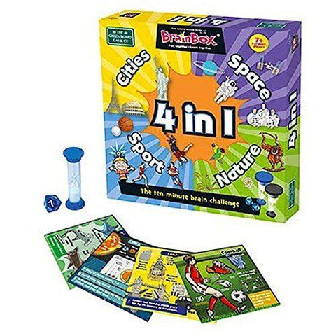 BrainBox 4-in-1 Game