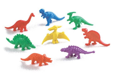 Counters Dinosaurs 6 Colours 128pc pbag - iPlayiLearn.co.za