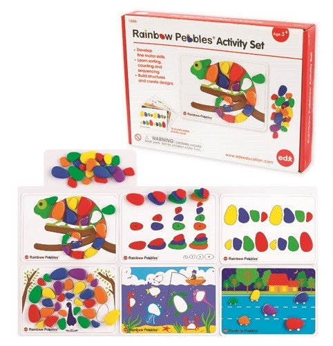 Rainbow Pebbles Activity Set 60pc