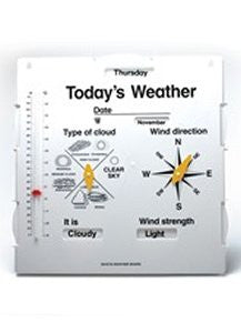 Weather Board - iPlayiLearn.co.za