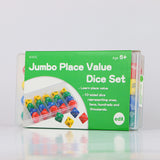 Dice Jumbo 10-Sided Place Value Set 24pc