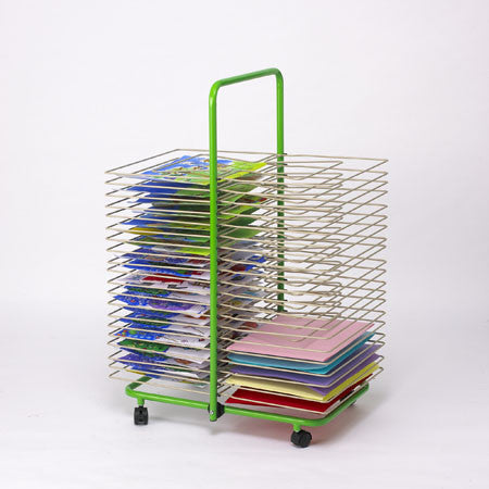 Floor Art Drying Rack - 40 shelves - iPlayiLearn.co.za