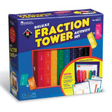 Fraction Tower® Deluxe Activity Set 51pc - iPlayiLearn.co.za  - 1