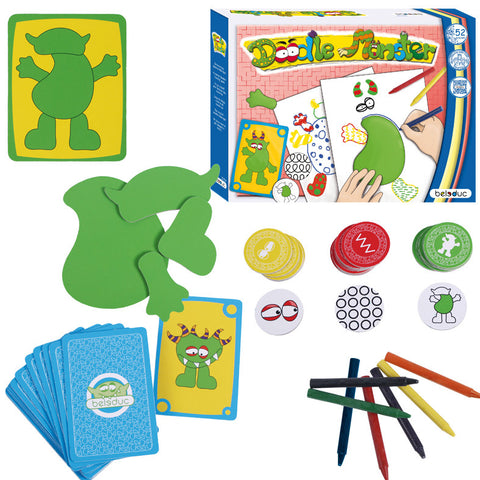 Doodle Monster 52pc