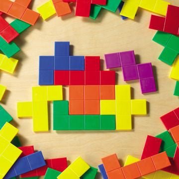 Pentominoes 72pc pbag - iPlayiLearn.co.za