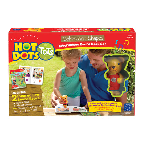 Hot Dots® Tots Colours & Shapes Interactive Board Book Set