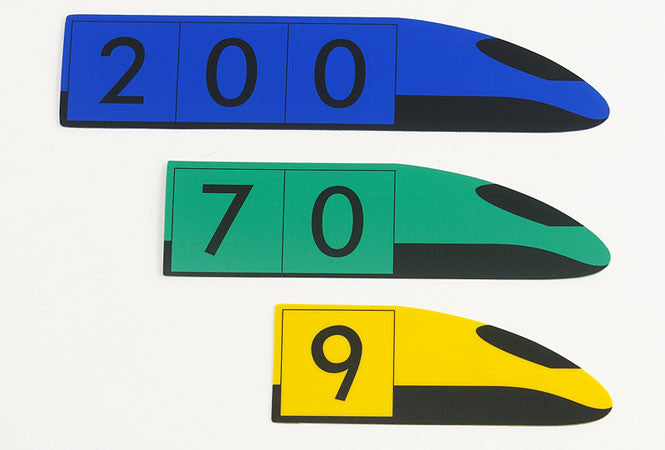 Place Value Trains HUNDREDS demo - iPlayiLearn.co.za