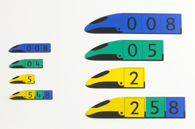 Place Value Trains - Decimal 27pc - iPlayiLearn.co.za
