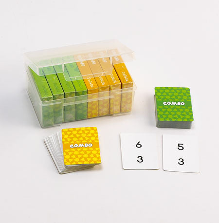 Combo Playing Card Game - 8 Pks in container - iPlayiLearn.co.za