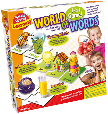 World of Words Card Game