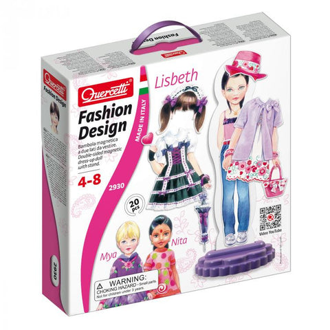 Fashion Design - Lisbeth 20pc (Magnetic) - iPlayiLearn.co.za